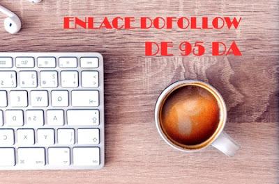 Enlace dofollow gratuito 95 DA