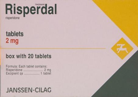 سعر ودواعى إستعمال أقراص ريسبيردال Risperdal للقلق