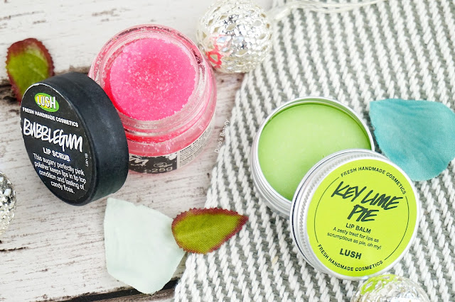 Dino's Beauty, Lush, Lush Nottingham, Lush Oxford Street, Bubblegum, Lip Scrub, Key Lime Pie, Lip Balm, Dry Chapped Lips, Lipcare