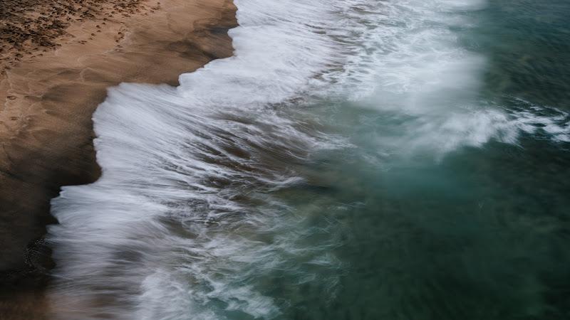 Ocean Waves Panorama