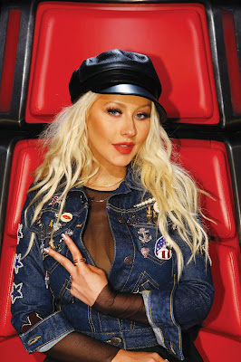 Christina Aguilera en la Voz 2016