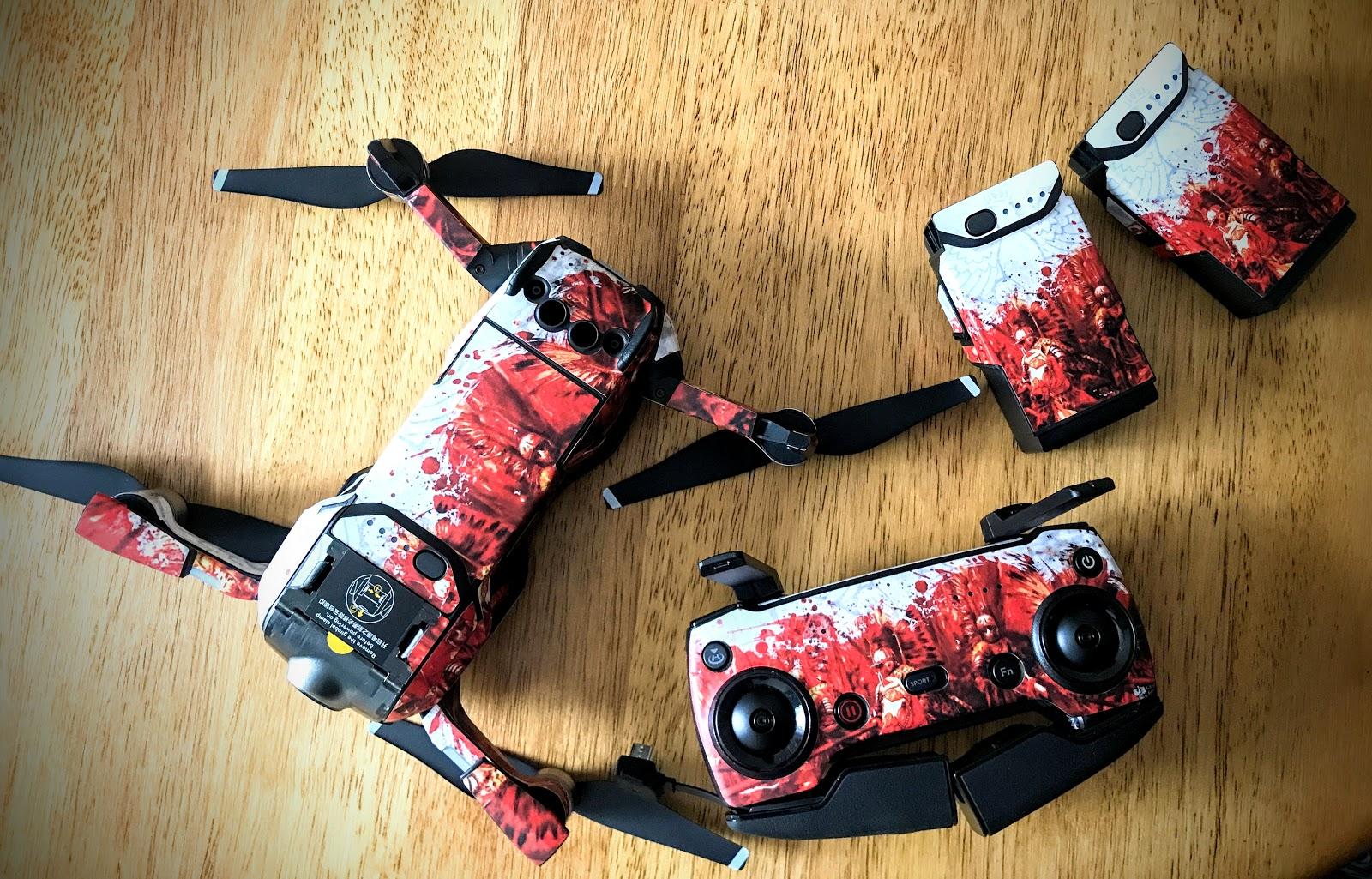 Skiny do drona od DecalGirl - recenzja