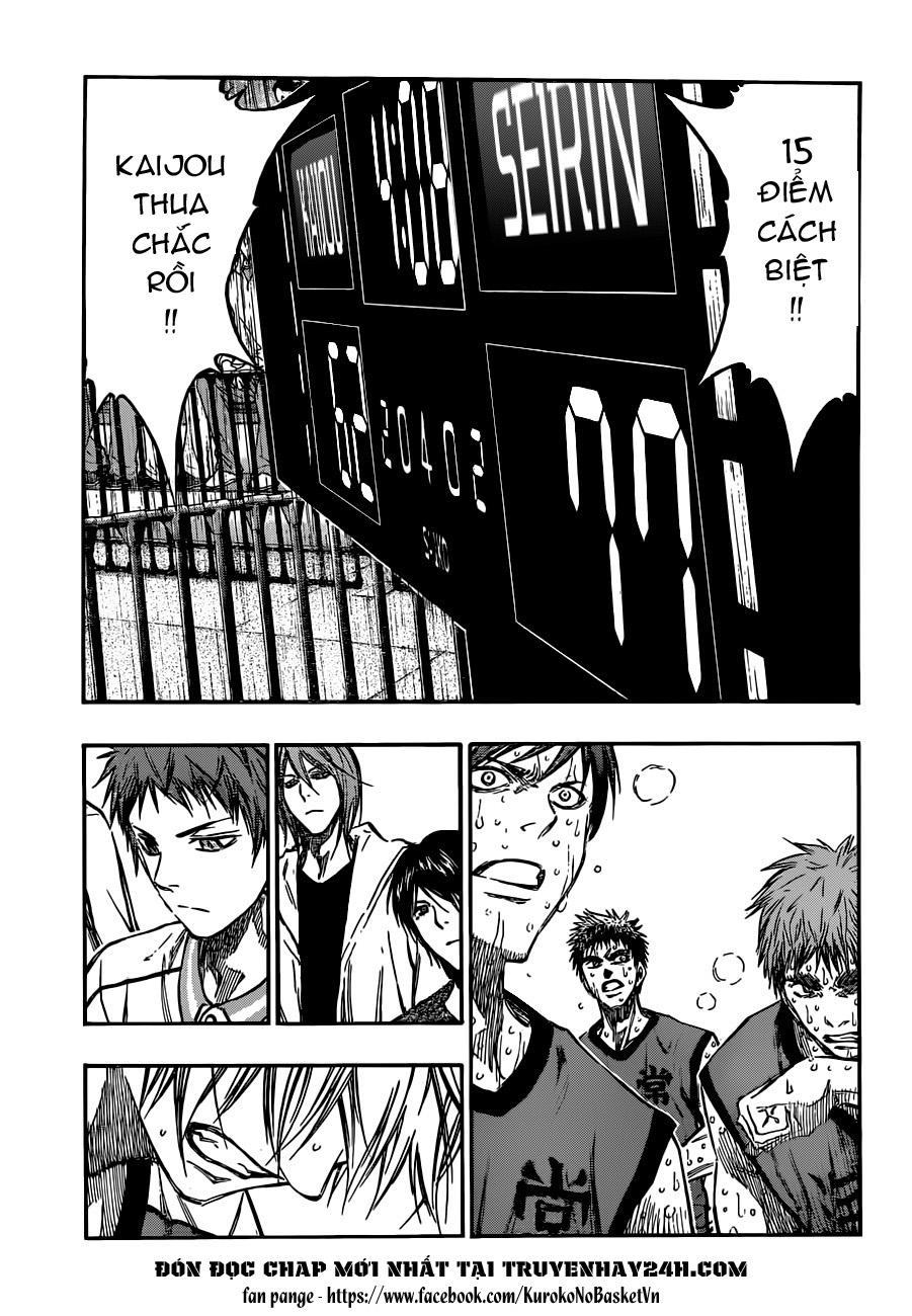 Kuroko No Basket chap 195 trang 13