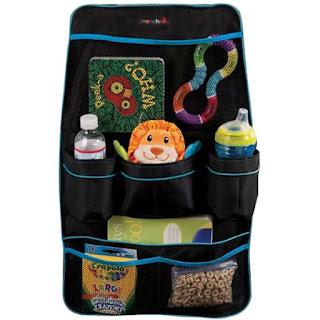 منظم ادوات الطفل لكرسي السيارة .  Munchkin, Backseat Organizer