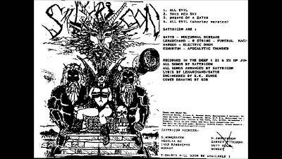 Discografía de Satyricon (MEGA)