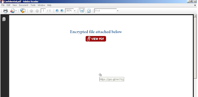 July 2018 a box in space this malicious pdf only contains a url to entice the user to view the file fandeluxe Images