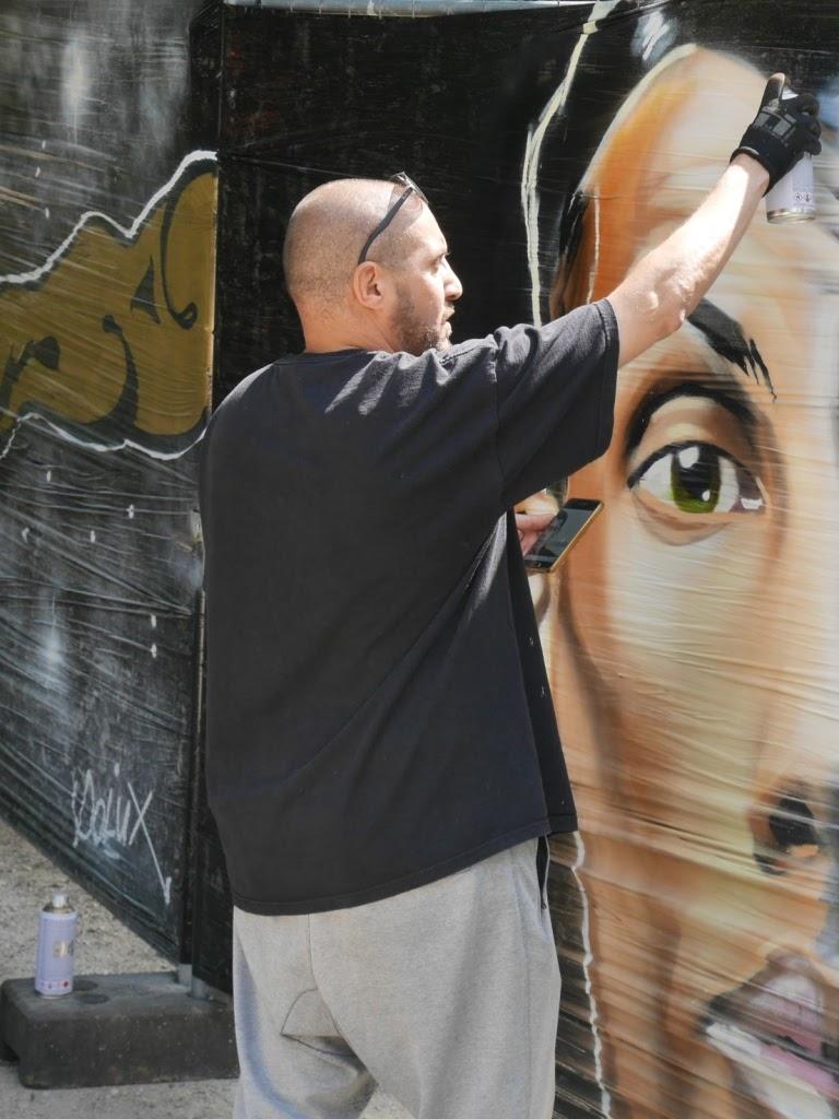HMI peint Stromae