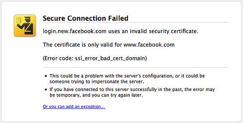 Memperbaiki SSL Connection Error