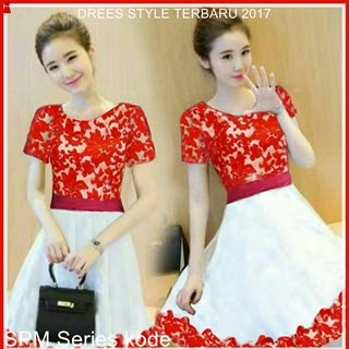 3SPM Dress Wanita Model Kebaya Cantik Elegan Bj5003