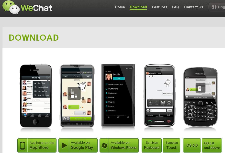 WeChat WhatsApp Alternative