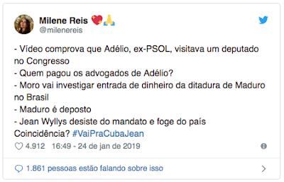 32745db418fd7 A história que Adélio teria sido registrado na Câmara dos Deputados no dia  do atentado já foi desmentida pela própria Câmara. Em setembro de 2018
