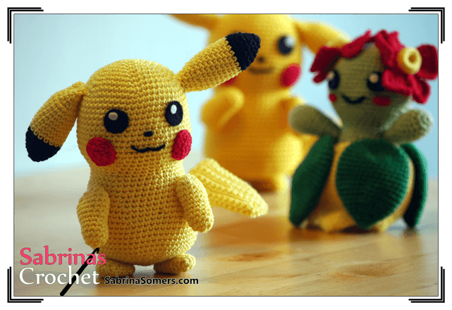 12 Free Pokemon Go Amigurumi Crochet Patterns | Pokemon crochet ... | 440x641