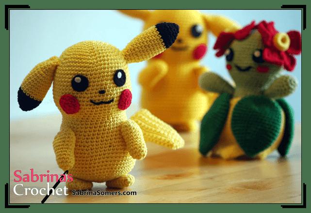 i crochet things: Pattern: Pikachu Amigurumi REVAMP | 440x641