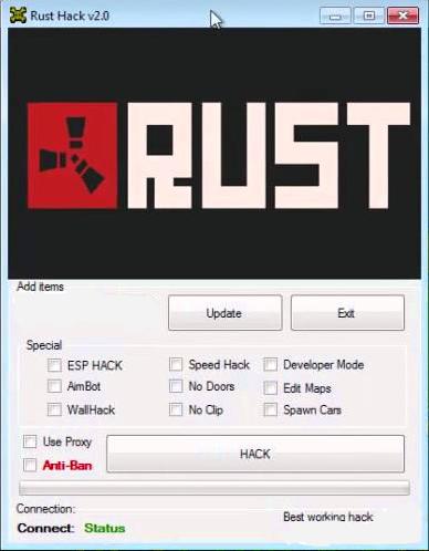 Rust Map Keybind