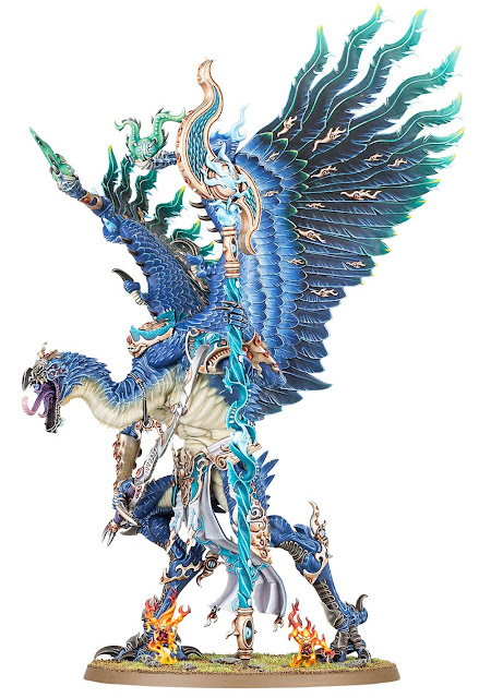 Gran Demonio de Tzeentch