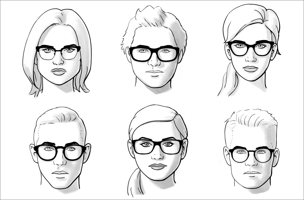 okulary korekcyjne do okrągłej twarzy damskie