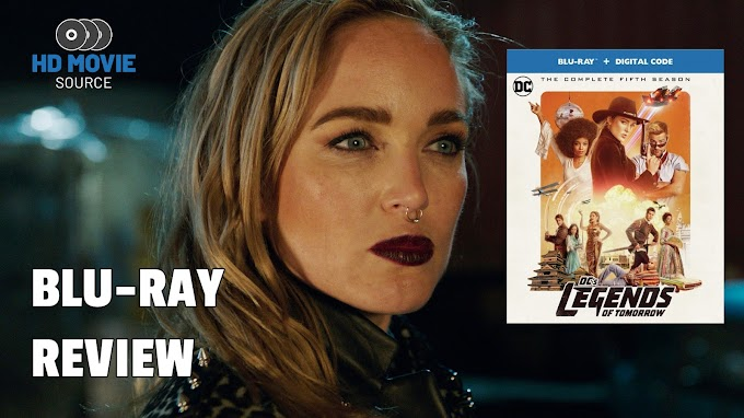 DC's Legends of Tomorrow: The Complete Fifth Season (TV) Blu-ray Review: The Basics
