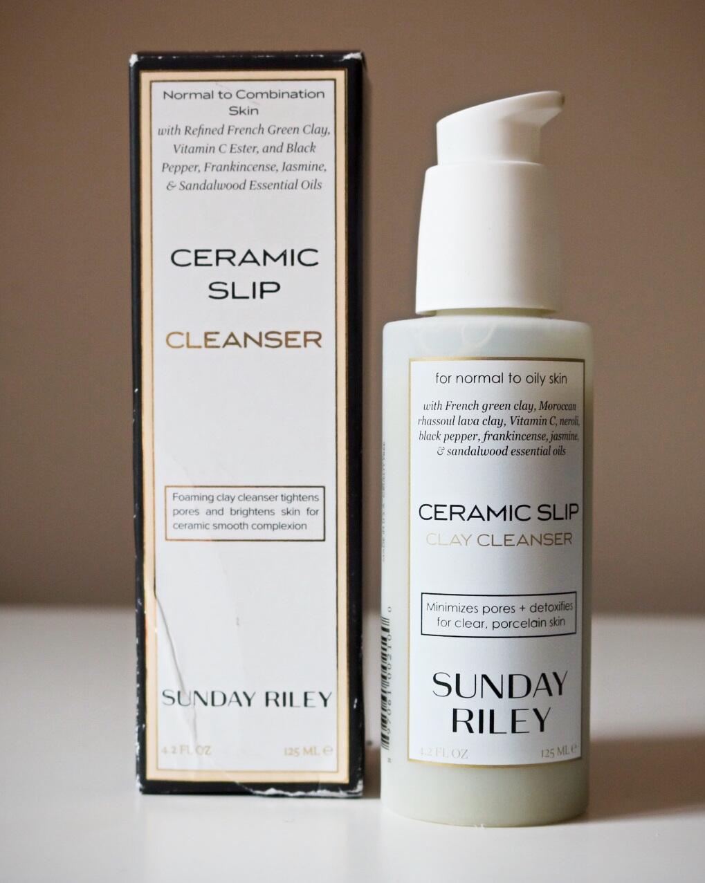 Sunday Riley Ceramic Slip Cleanser   I Am Fabulicious