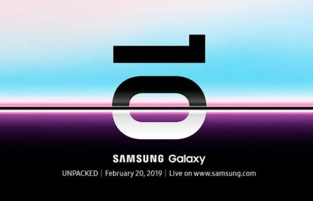 Launching Samsung Galaxy S10