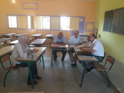 نهاية الاختبارات الشفوية الخاصة بمباراة التوظيف بموجب عقود بمديرية الفقيه بن صالح