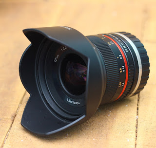 Samyang 12mm f2 NCS-CS  for Sony E-Mount ( Lensa bekas )