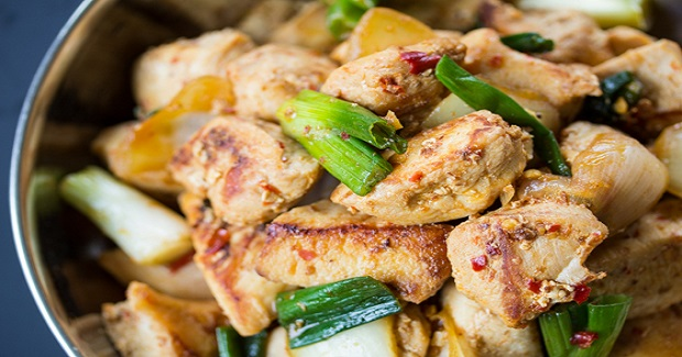 Simple Malaysian Stir Fried Chicken Recipe