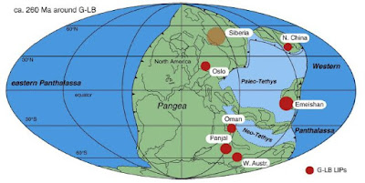 Large Igneous Provinces Linked to Extinction Events