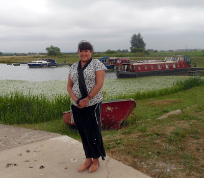Brigg Marina the River Ancholme - Picture Seven on Nigel Fisher's Brigg Blog - July 2018