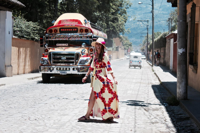 autobuses típicos Guatemala
