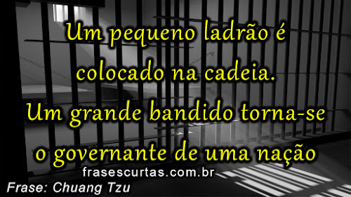 Frases sobre Governo e Ladrão no Poder
