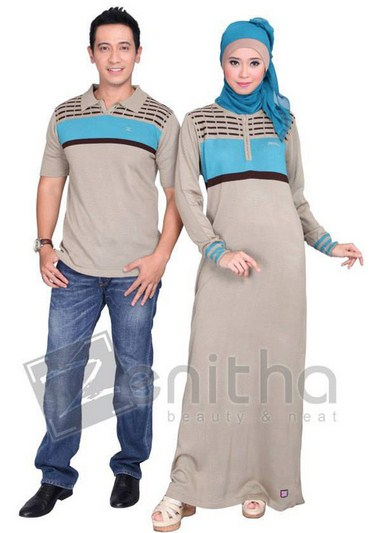 Model Baju Muslim Couple Santai Terbaru