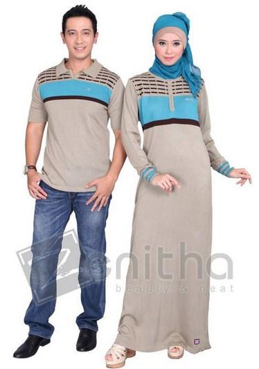Model Baju Muslim Couple Santai Terbaru