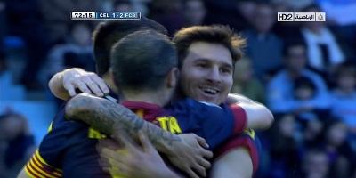 LFP-Week-29 : Celta Vigo 2 vs 2 Barcelona 30-03-2013