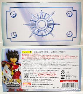 Review del Saint Cloth Myth Pegasus Seiya ver. Revival de Saint Seiya - Tamashii Nations