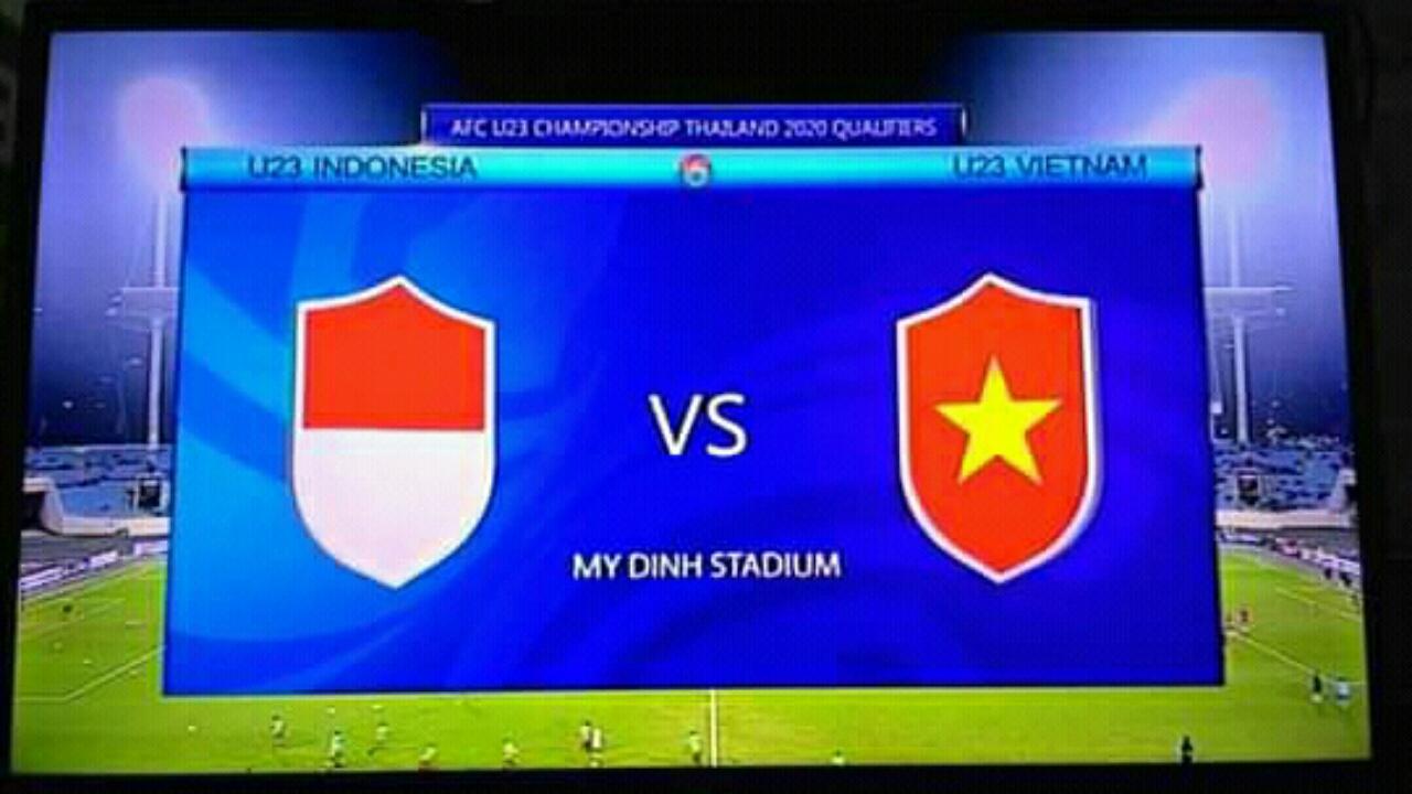 Bisskey Indonesia vs Vietnam Kualifikasi AFC U-23