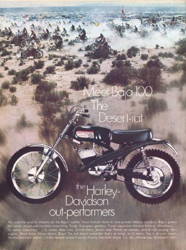 Harley Davidson Advertising: 34 Wonderful Harley-Davidson Advertisements On Magazines