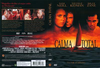 Cover, dvd, caratula: Calma total | 1989 | Dead Calm | Nikol Kidman, Sam Neill