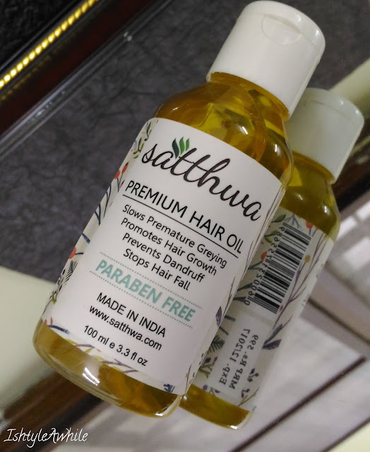 Satthwa Hair Oil review