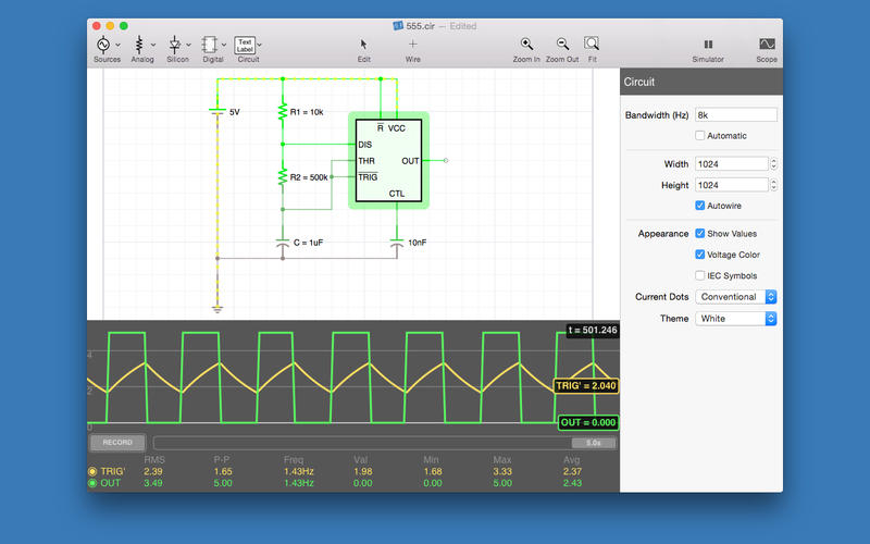 electronics circuits simulation software - 800×500