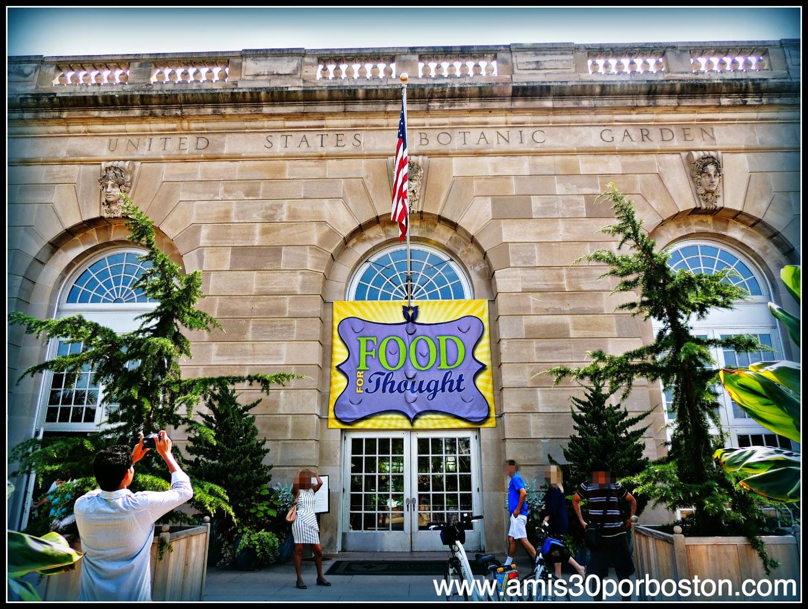 United States Botanic Garden & The National Garden en el National Mall de Washington D.C.