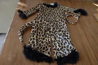child's leopard costume: LadyD Books