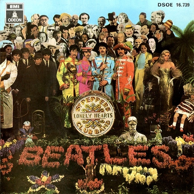 Lucy in the sky with diamonds. The Beatles