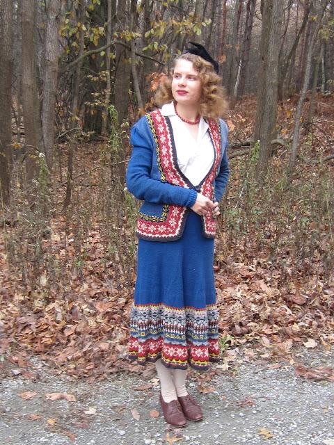 vintage winter wear