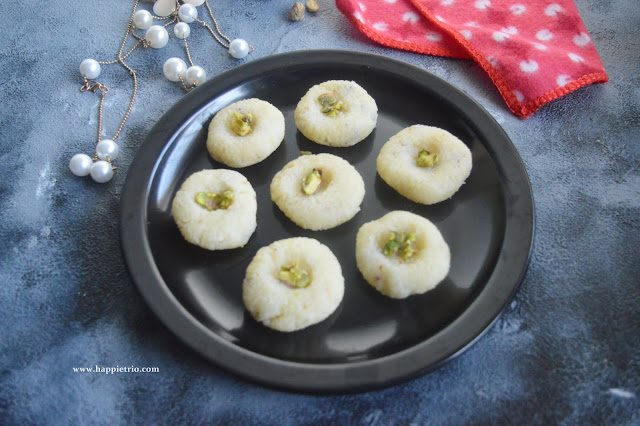 Coconut Peda Recipe | How to make Coconut Peda
