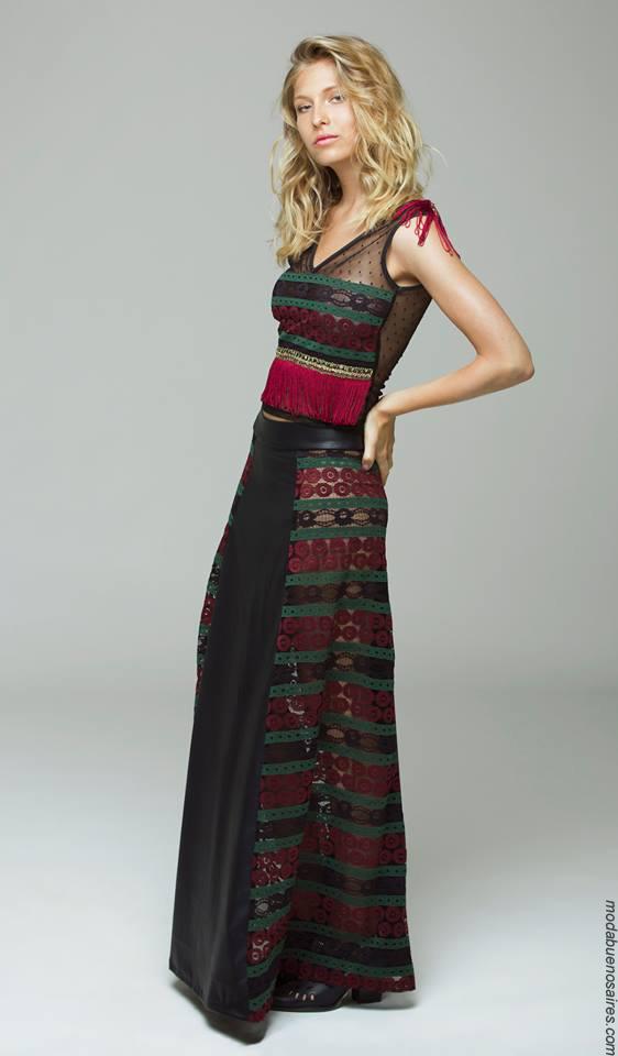Tops y faldas de moda 2017 ropa de mujer. Moda 2017.