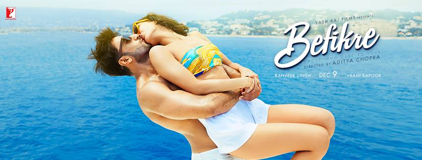 Complete cast and crew of Befikre (2016) bollywood hindi movie wiki, poster, Trailer, music list - Ranveer Singh and Vaani Kapoor, Movie release date 9 December 2016