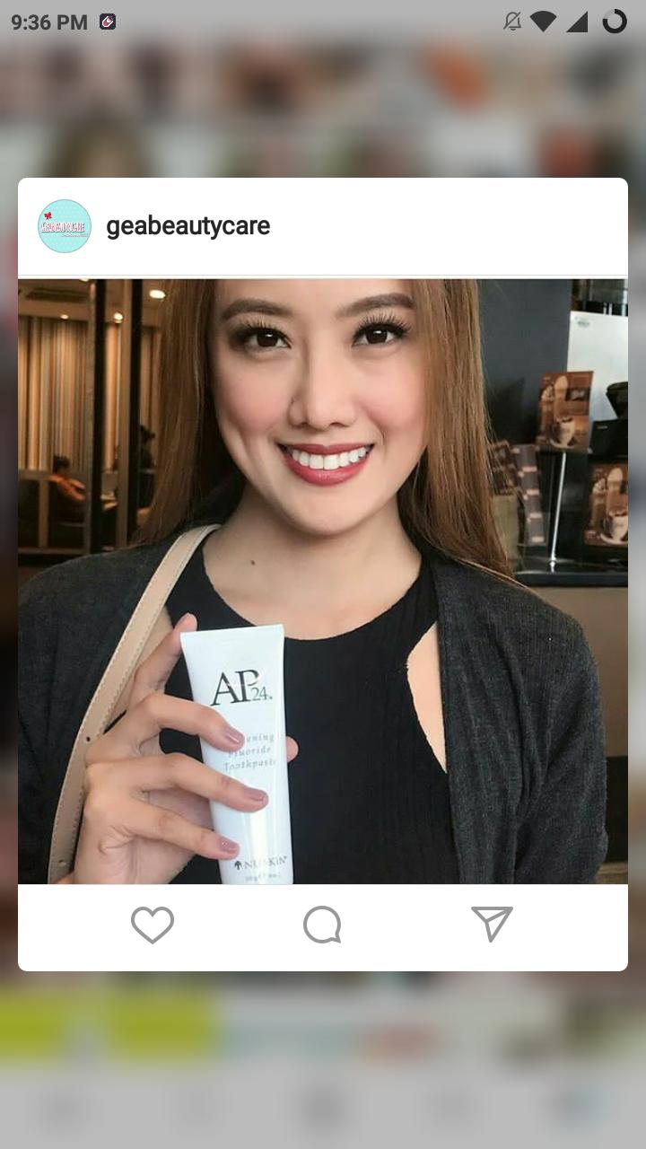 Kosmetik Original Murah Pasta Gigi Pemutih Ap24 Ijin Bpom Nu Saya Merasa Lebih Putih Dan Segar Untuk Yang Beralih Saja Ke Ap 24 Whitening Flouride Tooth Paste Order