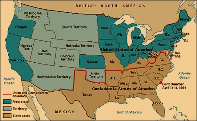 Abolición de la esclavitud, sudistas, confederados, Realismo Mágico