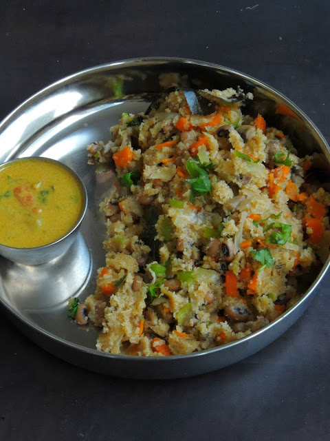 Protein Vegetable Masala Upma