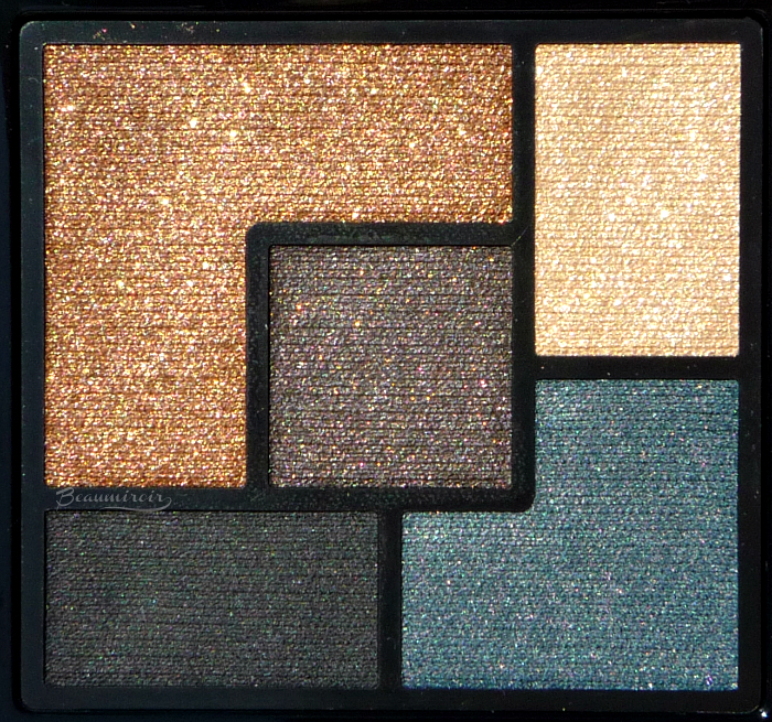 YSL Couture Eyeshadow Palette in Danger Seduction for Fall 2016: review, photos, swatches